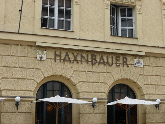 Haxnbauer : Exterior Sign