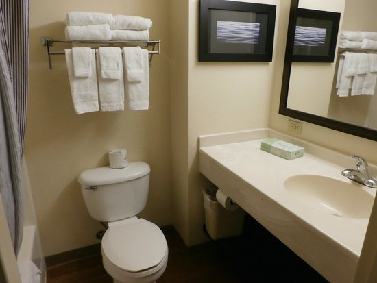 Extended Stay America - Dallas - Lewisville : Bathroom