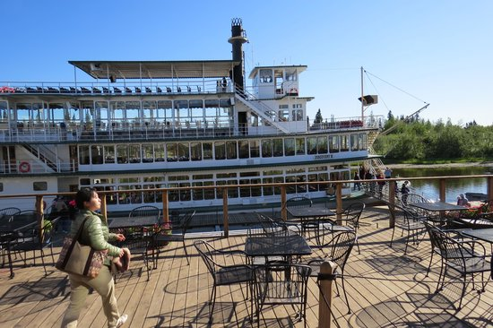 Riverboat Discovery : the river boat