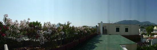 Villa Durrueli: vista dalla finestra