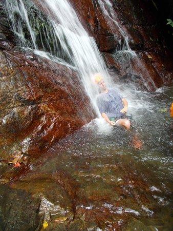 Rocaliza Adventure Tours: refreshing cool down