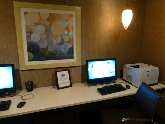 Hampton Inn Orlando International Drive/Convention Center: Computer Room