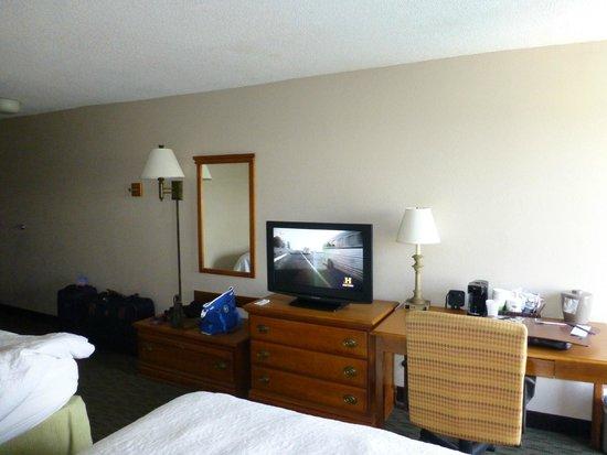 Hampton Inn Orlando International Drive/Convention Center: Bedroom Area