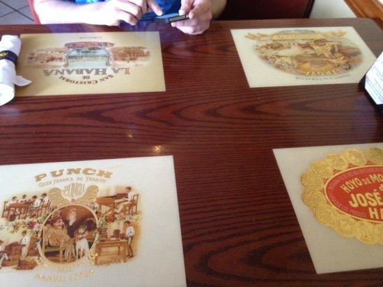 Havana Rumba St. Matthews: Table top