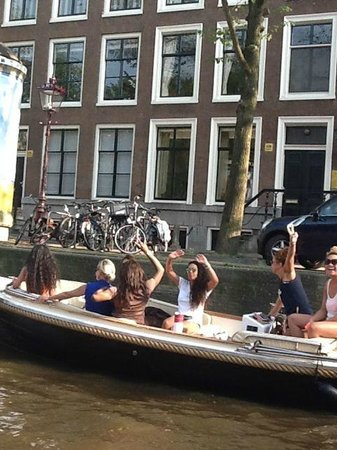 The Amstel: Party on the Amsel
