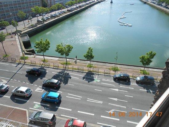 Mercure Le Havre Centre Bassin du Commerce: Vue en standar privilège, 6ème étage