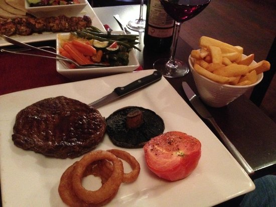The Red Room: Steak and Chips (Highly Recommended)