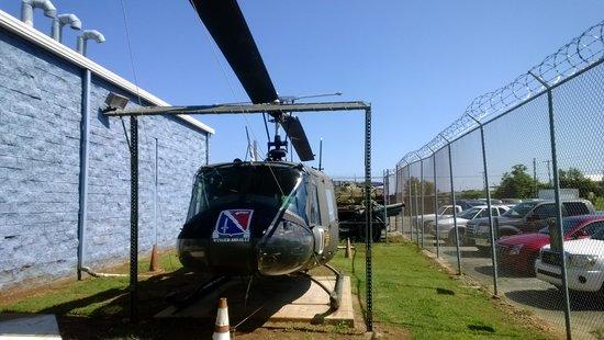 U.S. Veterans Memorial Museum: Helicopter used in Vietnam