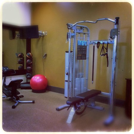 Hilton Garden Inn Yakima: The gym