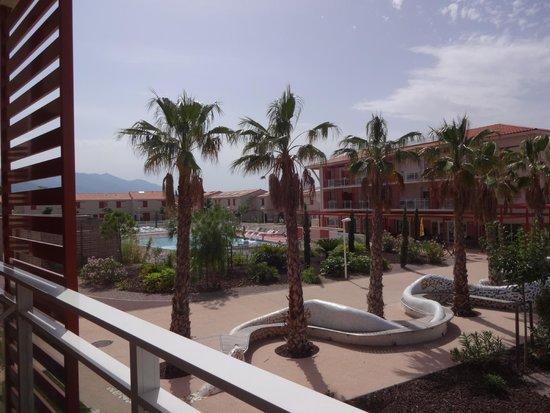 Résidence Club mmv Argelès Les Demeures de la Massane : Vue de notre balcon