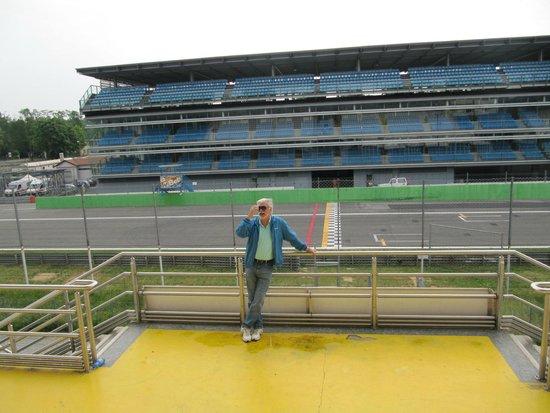 Autodromo Nazionale Monza : Linha de chegada vista da tribuna