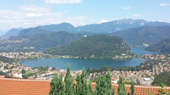 Albergo Ristorante Stampa: Blick auf den Lago di Lugano