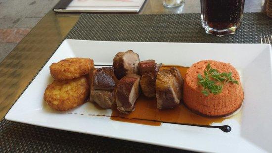 Moevenpick Hotel Lausanne Restaurant : Filet mignon