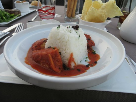 Fairmont Monte Carlo: Food at the 7th floor restaurant