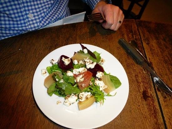 The Plough Inn: feta salad