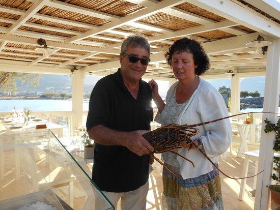 Kanali Restaurant: Thassos met langoestine