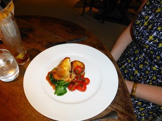 The Plough Inn: chicken dish