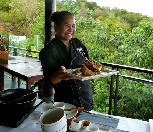 Mantra Samui Resort : Khun Oh´s cooking class, not to be missd