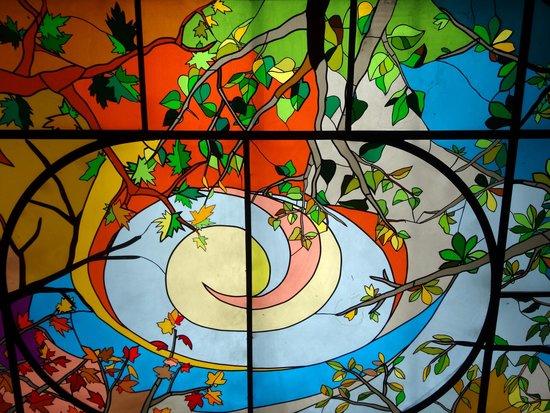 Polskie Smaki: ceiling detail.
