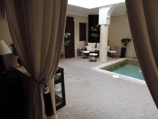 Riad Al Badia: Lobby - Reception
