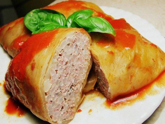 E.J. Pierogi: stuffed cabbage