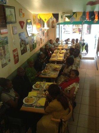 Bar Brasserie L'Eden : superbe groupe gana cameroun cote d'ivoire