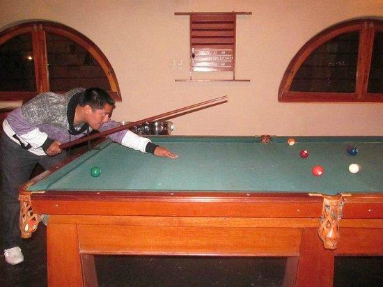 San Agustin Urubamba Hotel : Billar