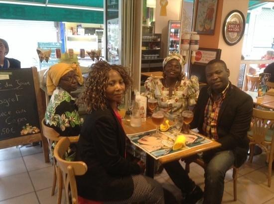 Bar Brasserie L'Eden : merci tres bon moment