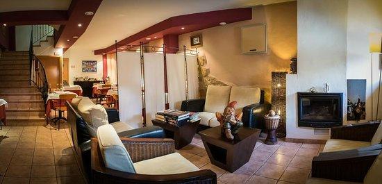 La Alqueria Hotel : Zona de estar