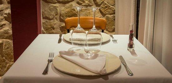 La Alqueria Hotel : Montaje mesa