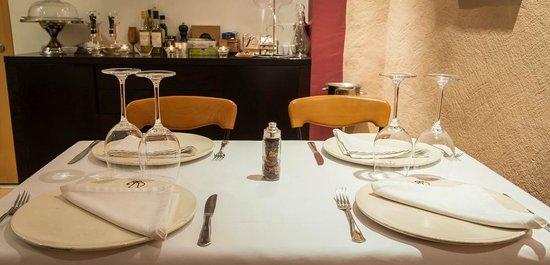 Hotel La Alqueria: Montaje comedor