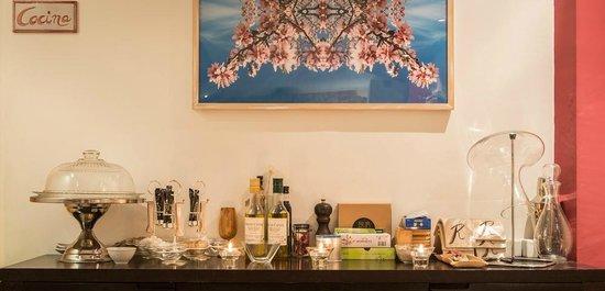 Hotel La Alqueria: Detalle comedor