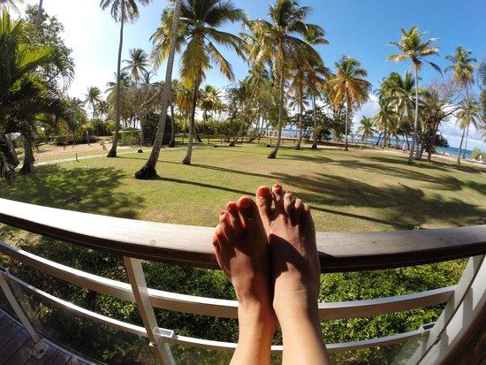 Club Med La Caravelle: La vue de notre terasse