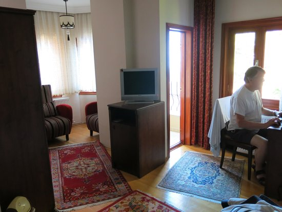 Berce Hotel: Our room