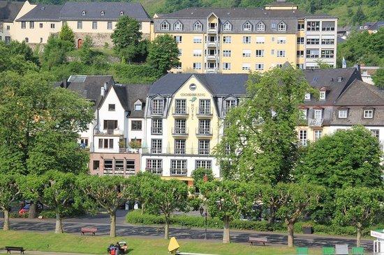 Hotel Cochemer Jung : Voorfacade Cochemer Jung.