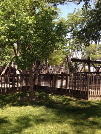 Burlington, CO: Awesome city park at the fairgrounds. Perfect place for a picnic and to stretch your legs while