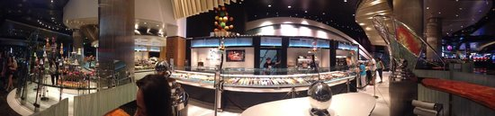 Jean Philippe Patisserie - Aria Resort : Panoramic view