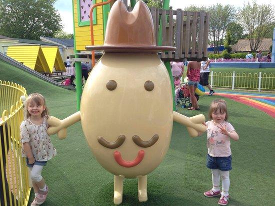 Paultons Park: They love Mr potato!