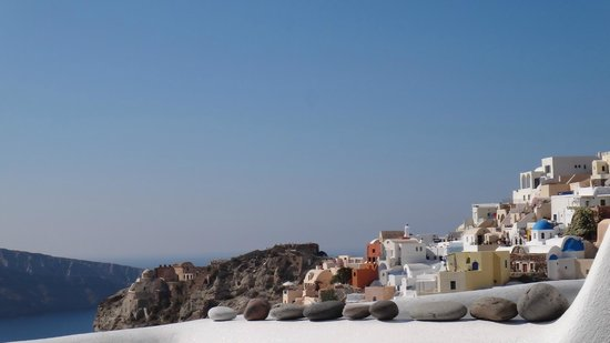 Art Maisons Luxury Santorini Hotels Aspaki & Oia Castle : View