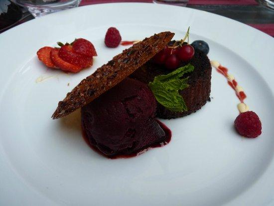 Chez Peyro : Le dessert