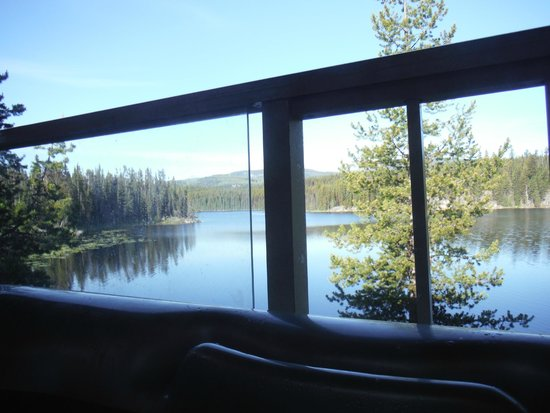 Idabel Lake Resort: View from the hot tub