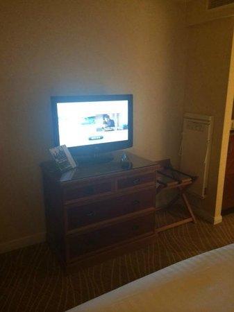 Heathrow/Windsor Marriott Hotel: TV cable satellite accessible