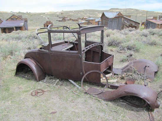 Silver Maple Inn: Driving to Bodie