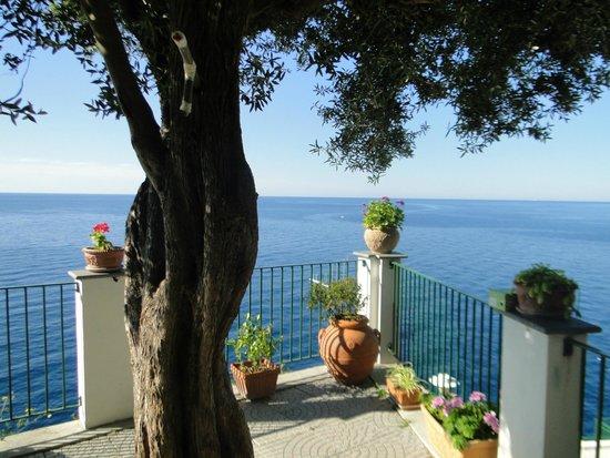 Hotel Villa Maria Pia: Local do almoço