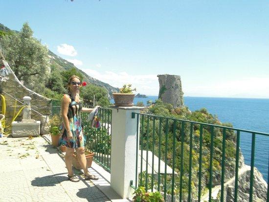 Hotel Villa Maria Pia: Local do café da manhã