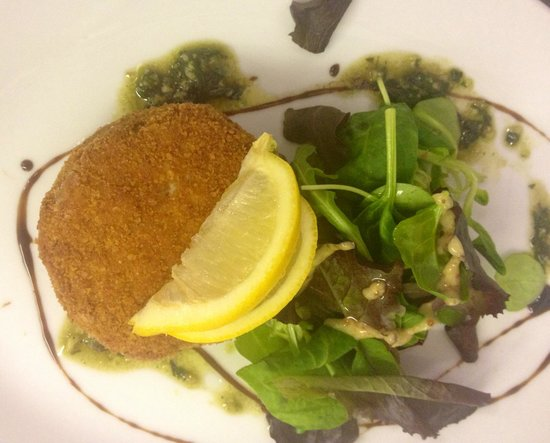 Salmon and haddock fish cakes