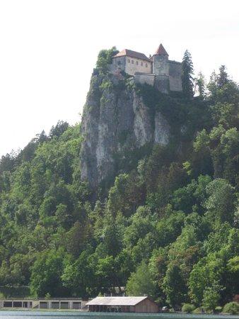 Bled Island : Uno de los castillos que rodean al Lago.