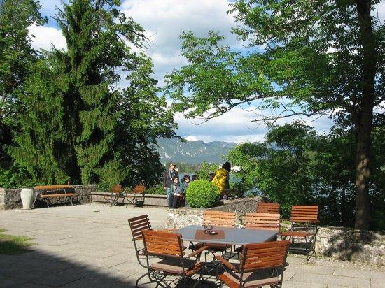Bled Island : Vista desde la Isla.