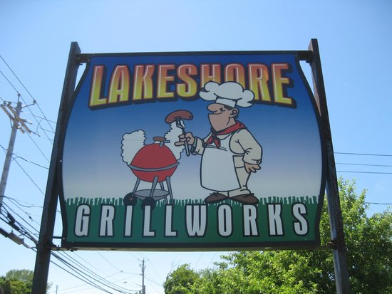 Lakeshore Grillworks: Main Sign for Grillworks