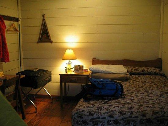Roosevelt Lodge Cabins: In de cabin